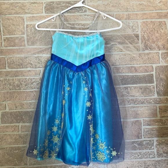 Disney princess Elsa dress costume girls 4-6